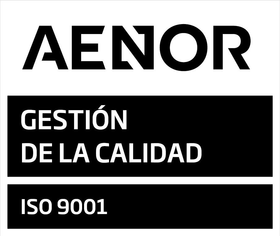 Sello AENOR ISO 9001